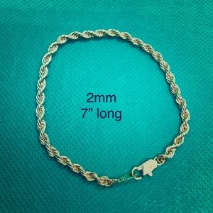 Jewelry - Rope chain bracelet T